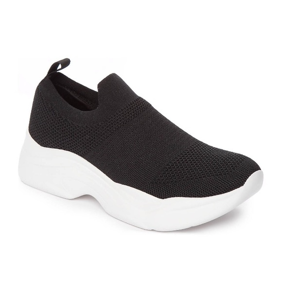 New Direction Madi Knit Sneaker